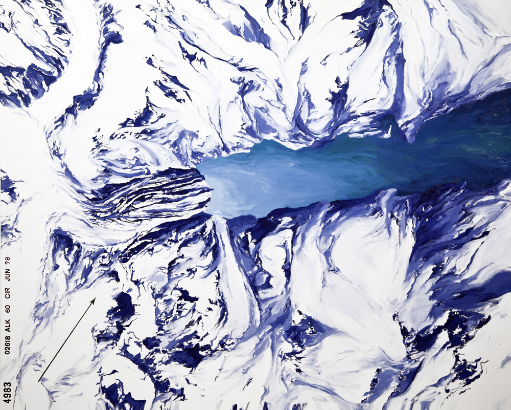 Johns Hopkins, Gilman Glacier, 1978 (USGS)
