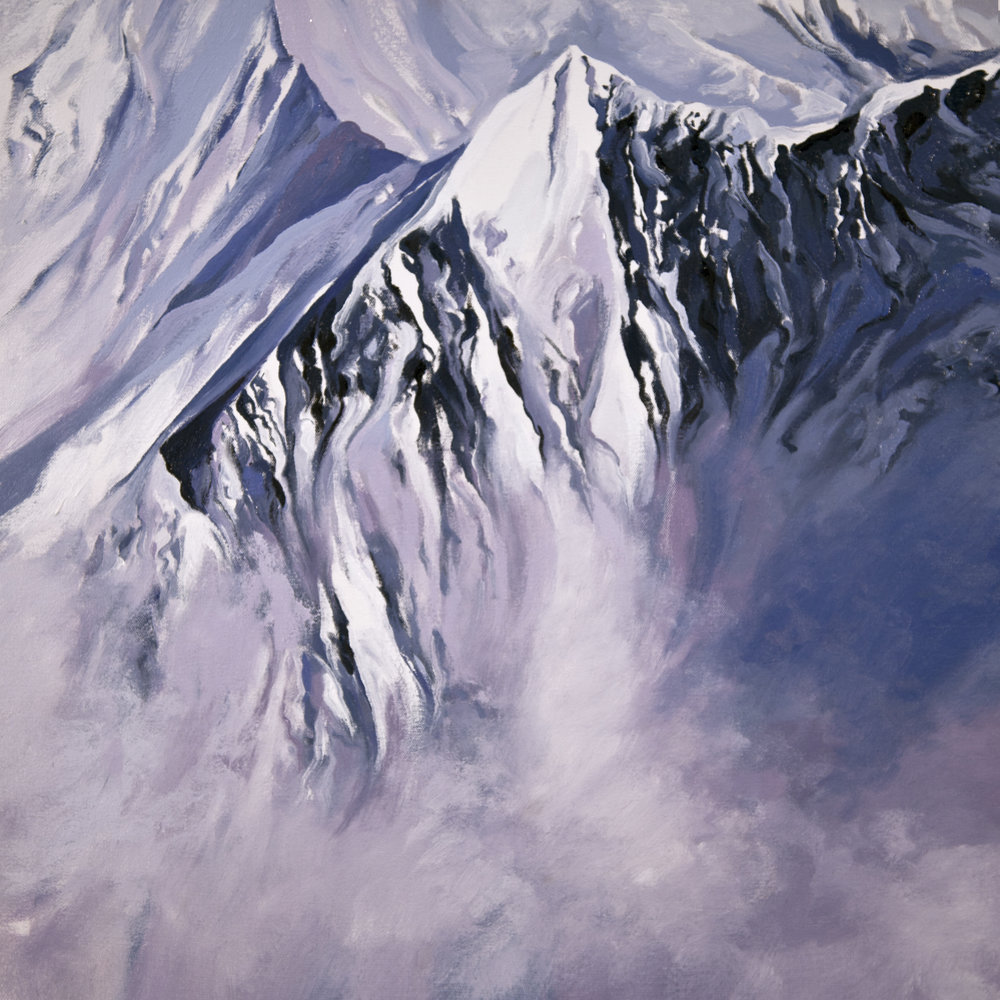 Makalu, Descent to South Col, after Barry Bishop, 1963