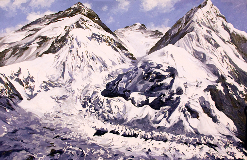 Khumbu Icefall Everest I, 1952, after Jake Norton
