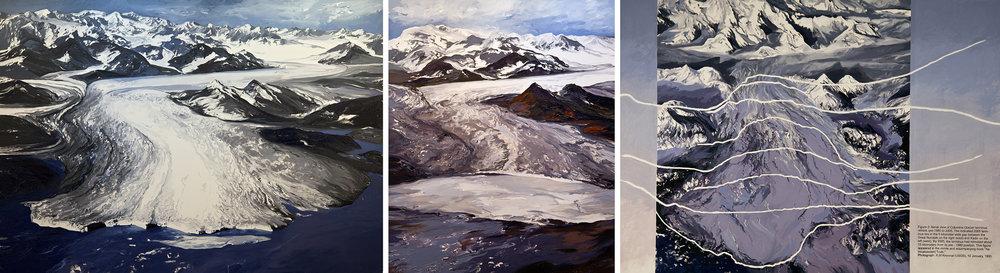 Columbia Glacier Triptych I, (figure 2)