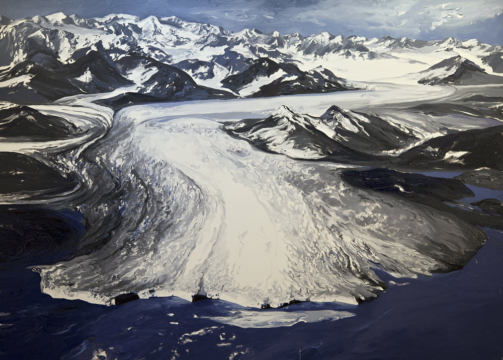 Columbia Glacier Triptych I (figure 2), 1978 After Austin Post