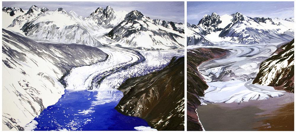 Nunatak Glacier #1, #2