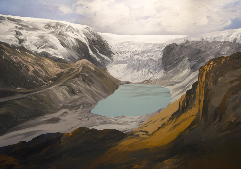 Qori Kalis Glacier #4, 2007, after Henry Brecher