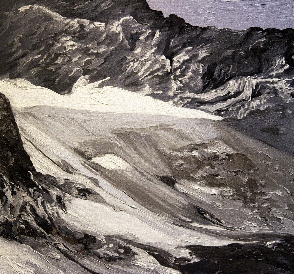 Arapaho Glacier, 1960, after Waldrop Arapho