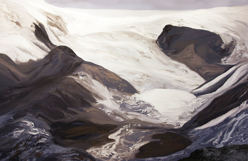 Qori Kalis Glacier #1, 1978, after Henry Brecher