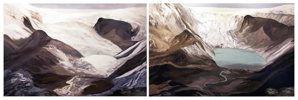 Qori Kalis Glacier 1, 2