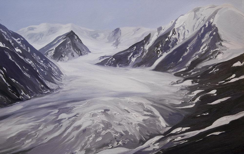 Okpilak Glacier #1, 1907, after Ernest Leffingwell