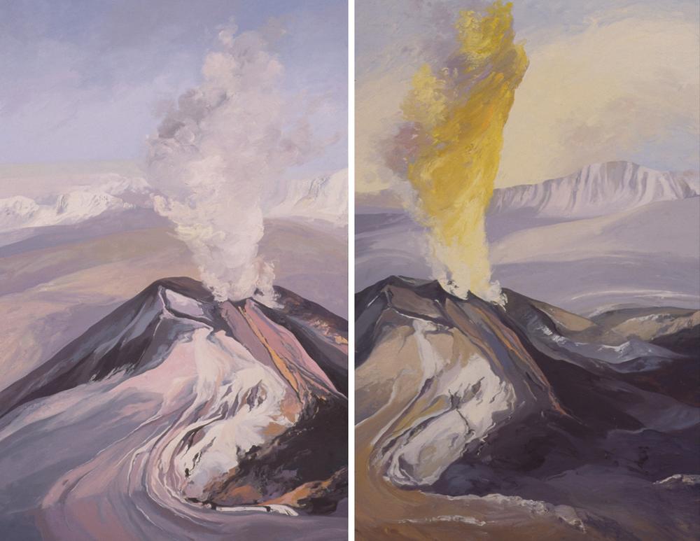 Pavlov Volcano Study 1a & 1b