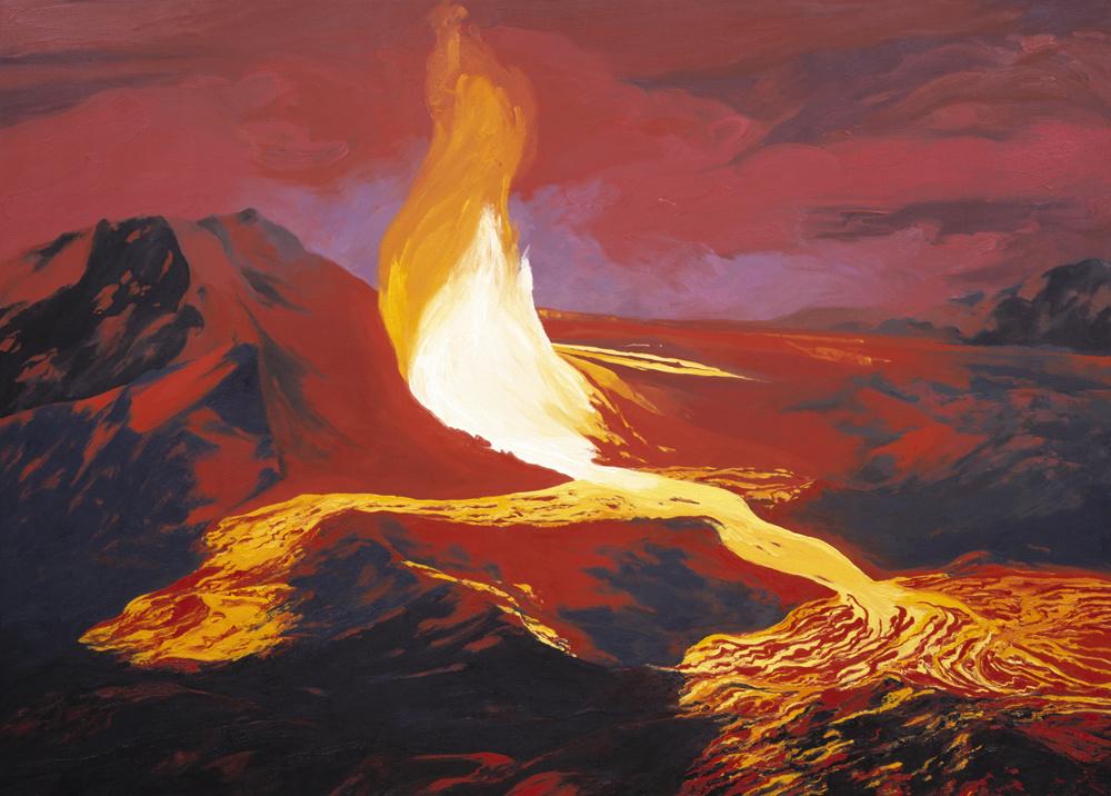 Kilauea's Overflow Hawaii (1968) #2