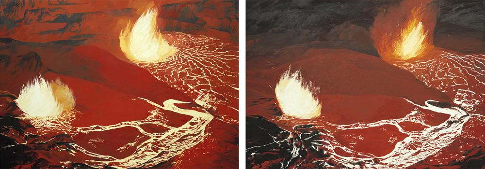 Kilauea's Overflow Hawaii (1968) #4 and #3