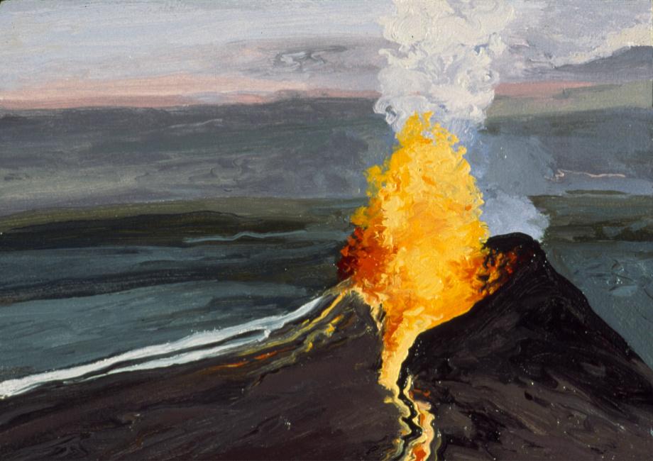 Pu'u O'o Eruption, Study #1