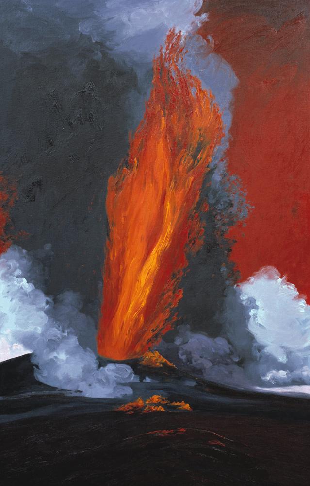 High Lava Fountain - Pu'u O'o (1984) #1