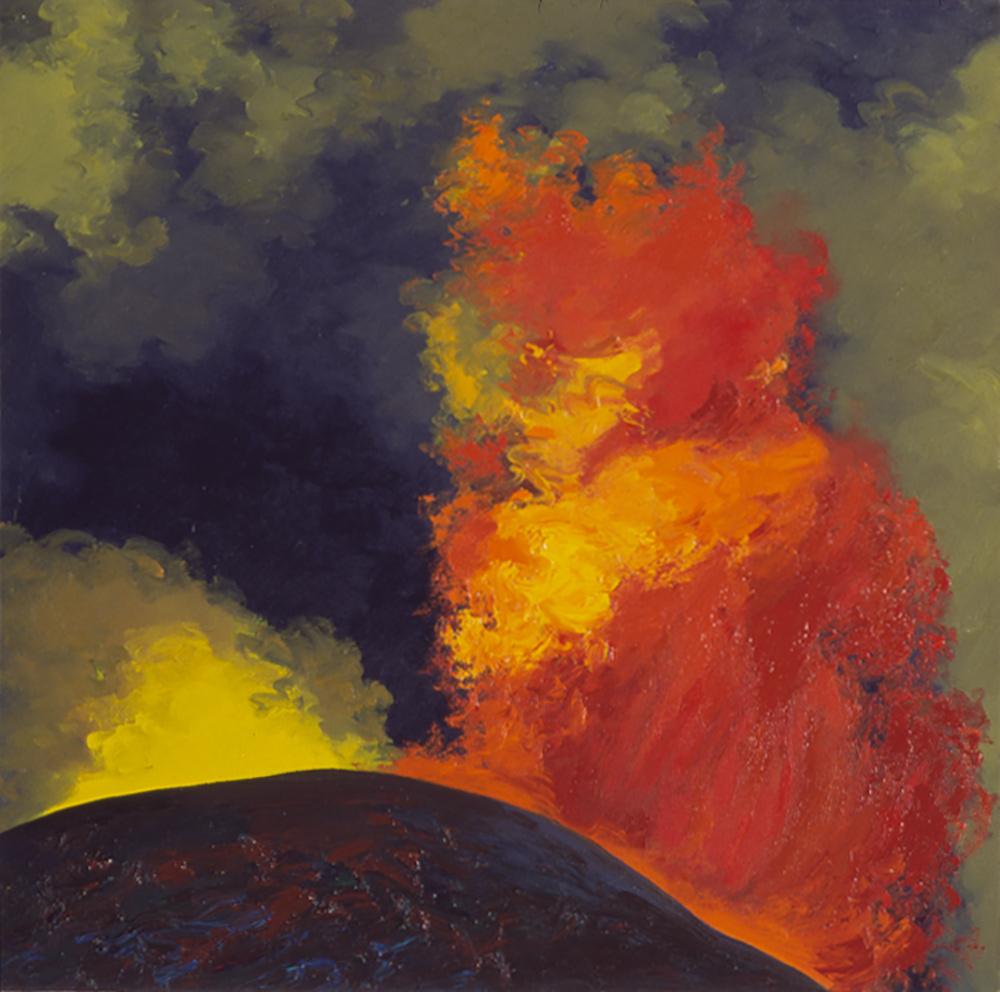 Tolbachik Eruption, (1975) #1