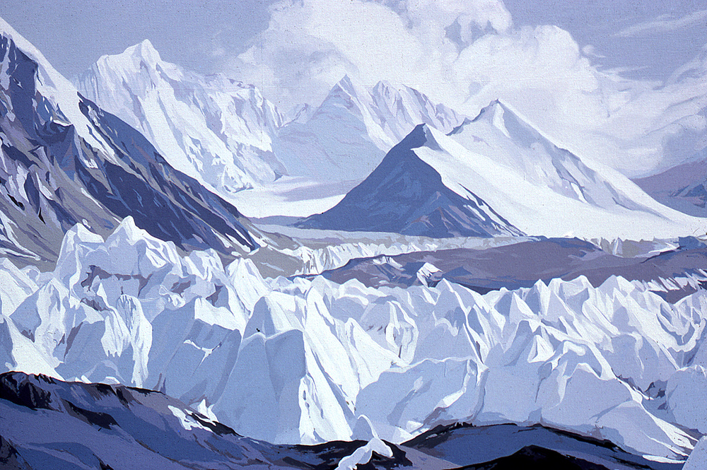 Rongbuk Glacier - Mount Everest