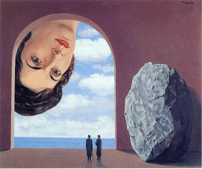 Art by René Magritte.