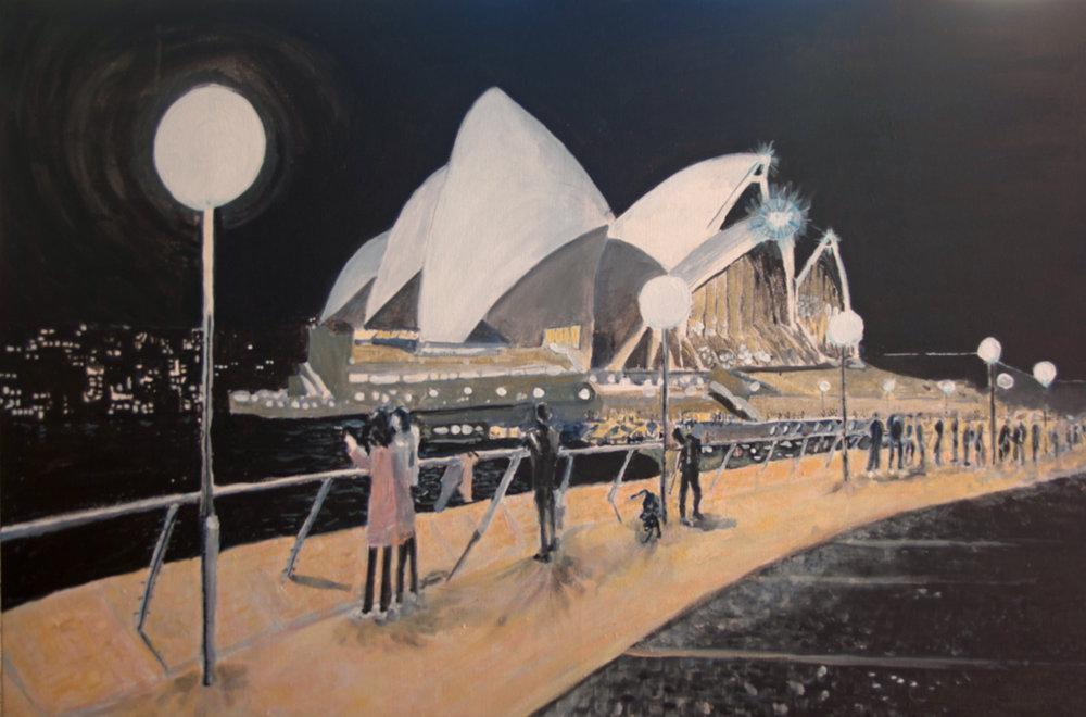 Night Opera House