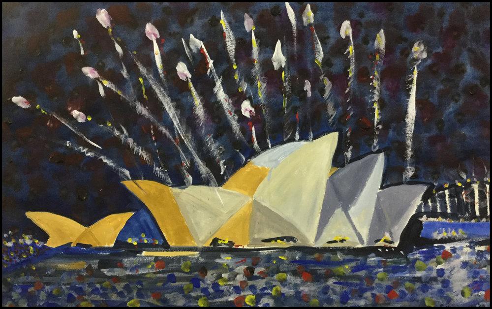 Sydney Harbour NYE 2014