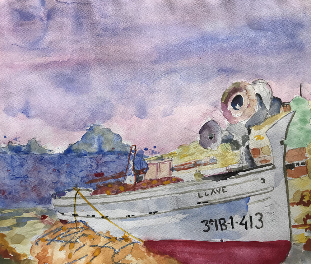 Fishing Boat Ibiza.