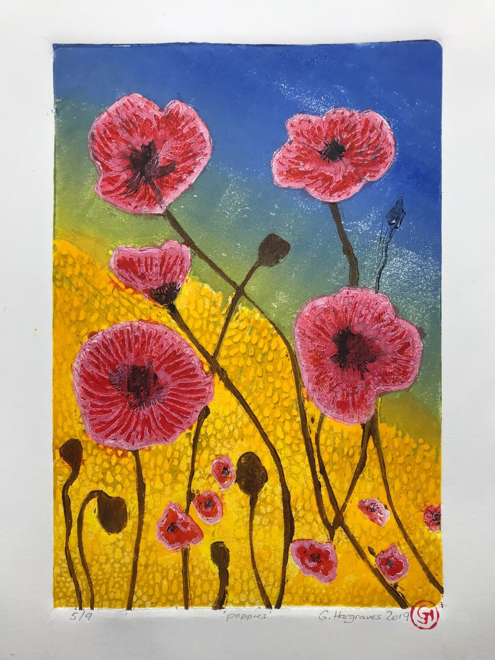 poppies (Unframed)