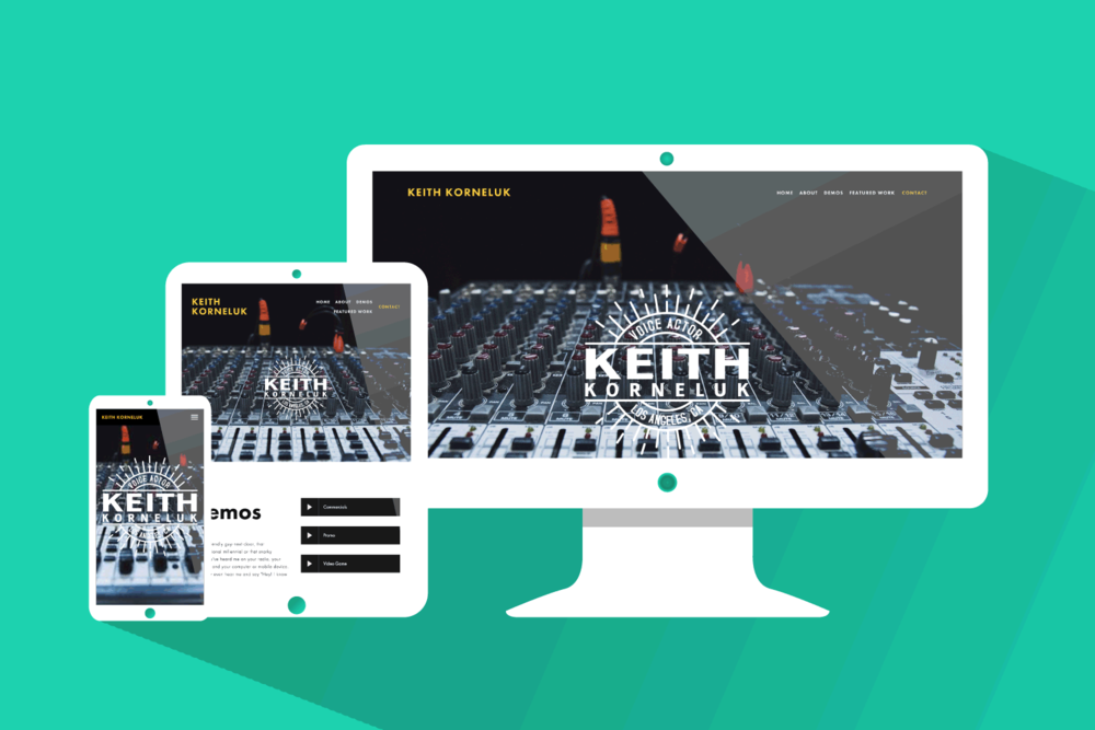 Keith Korneluk, Brand & Web Design