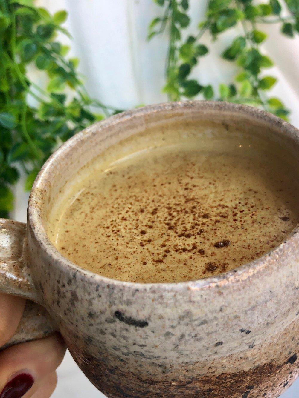 Healthy Pumpkin Spice Latte | Dairy-Free, Vegan, Sugar-Free, Paleo, Keto & Calling Your Name