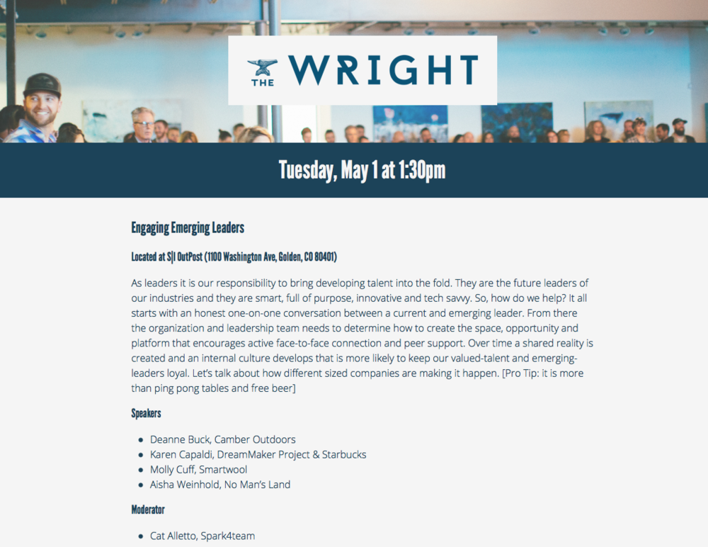 The Wright - The Wright celebrates a unique breed of leader