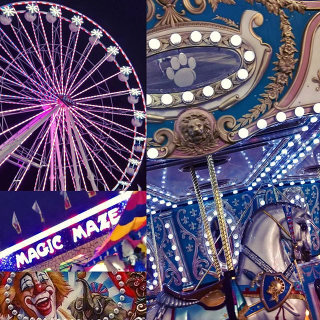 Fun times at the SD fair! Merry go rounds, mirror mazes, and Ferris wheels are my fave. Always love the art! Also, fry everything seems to be their motto lol