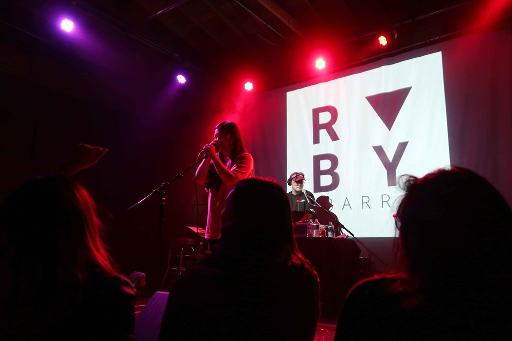 Ruby Ibarra in concert at the Bootleg Theater in Los Angeles' Historic Filipinotown in January 2018. Photo by Paola Mardo.