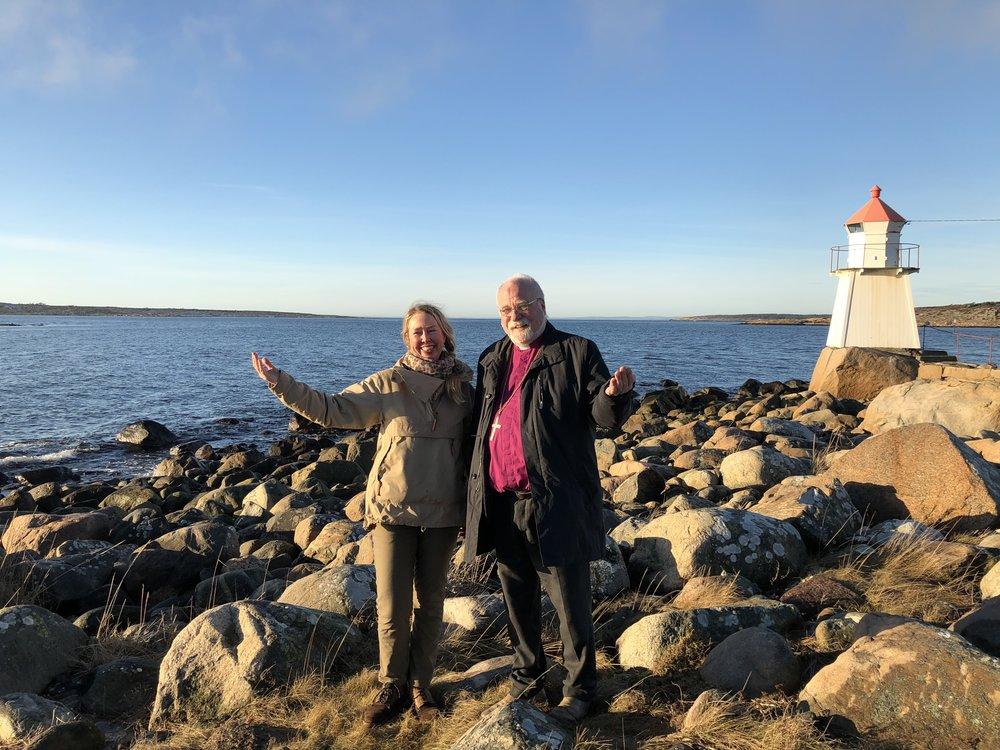 Solveig Egeland og Atle Sommerfeldt. Foto: Mari Tefre