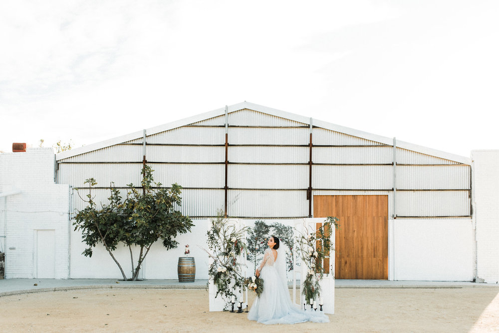 LINES AND SQUARES - Industrial Meets Provincial Wedding Inspiration