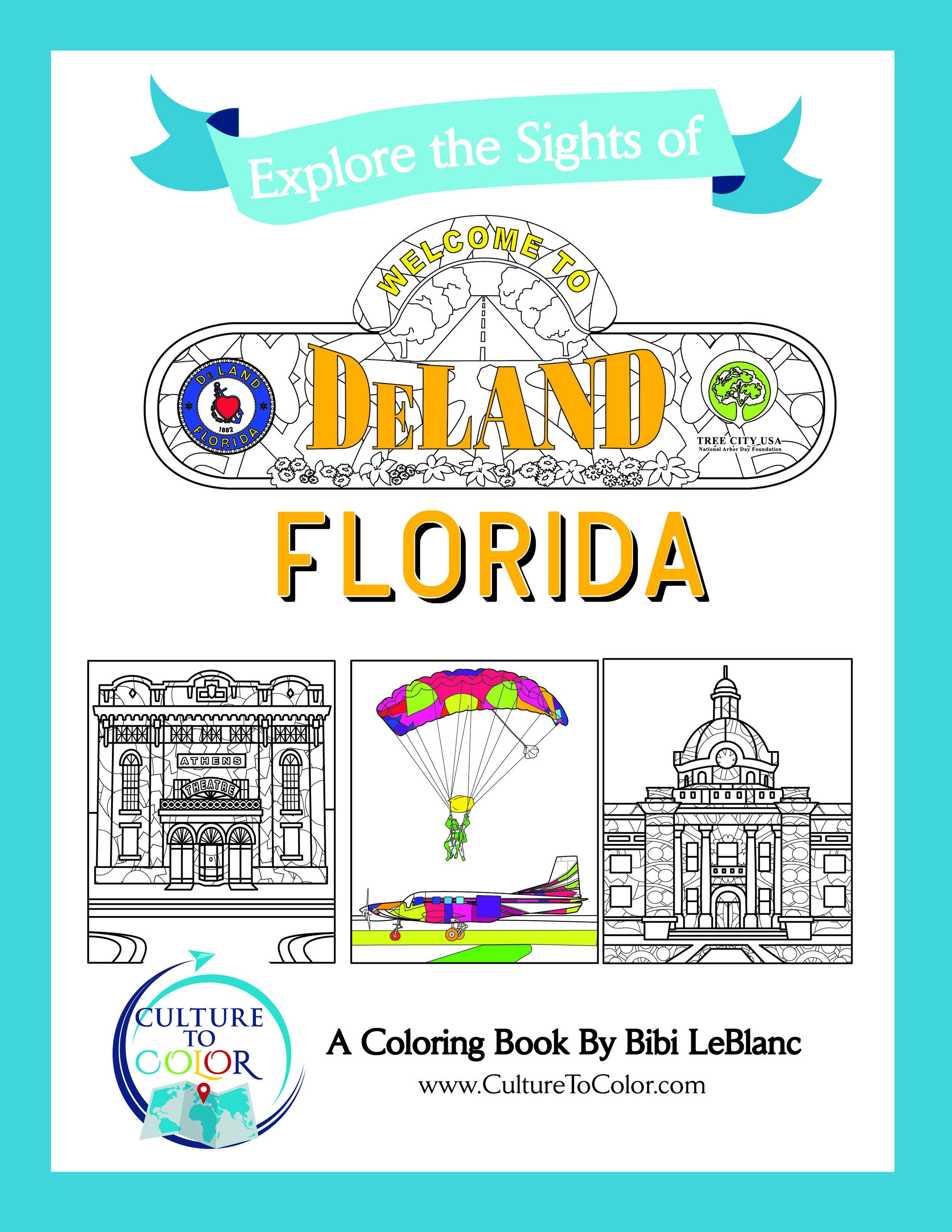 Zentangle Coloring Book - DeLand, Florida — Culture to Color ...
