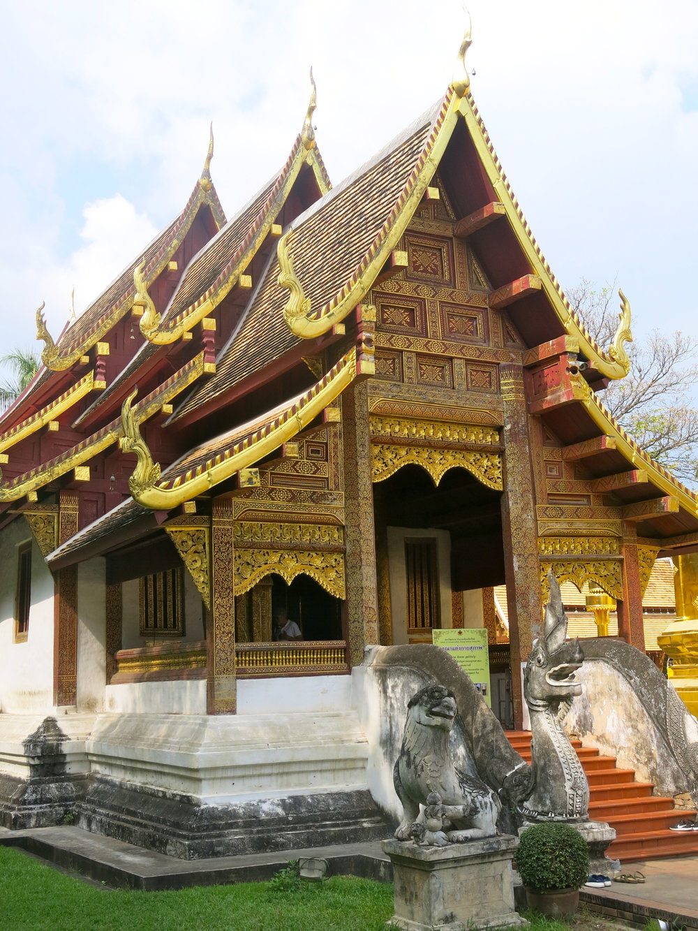 One of the temple of the Wat Phra Sing complex