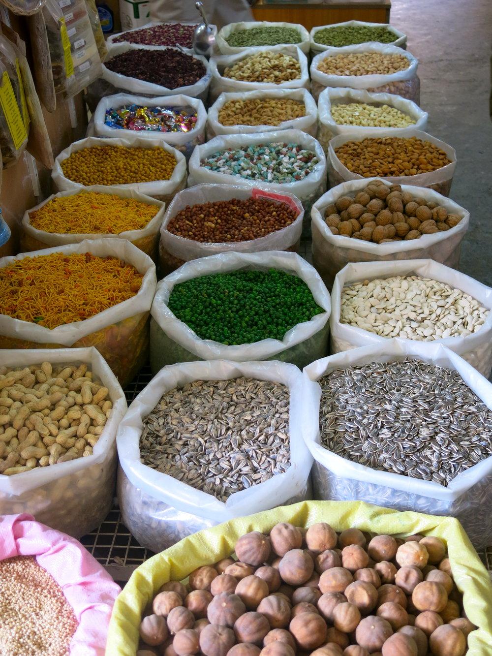 Spices in the souk of Nizwa