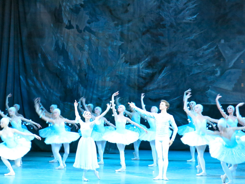 Attending a ballet in Saint-Petersburg is an experience