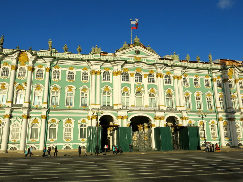 The Winter Palace, home of Russian Tsars for centuries