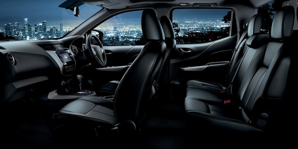 Nissan Navara Interior Seating