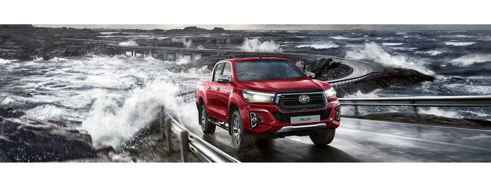 Toyota Pickup Red