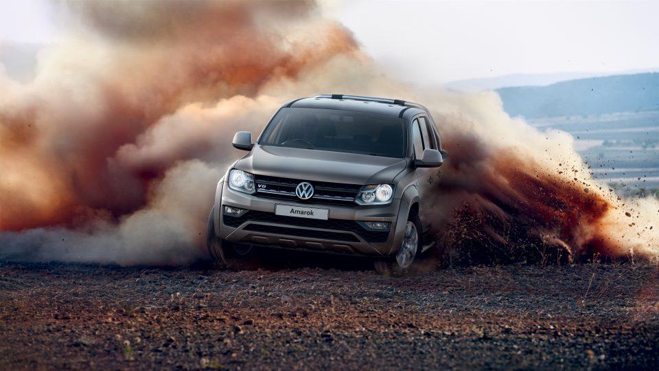 Volkswagon Amarok Dust Track