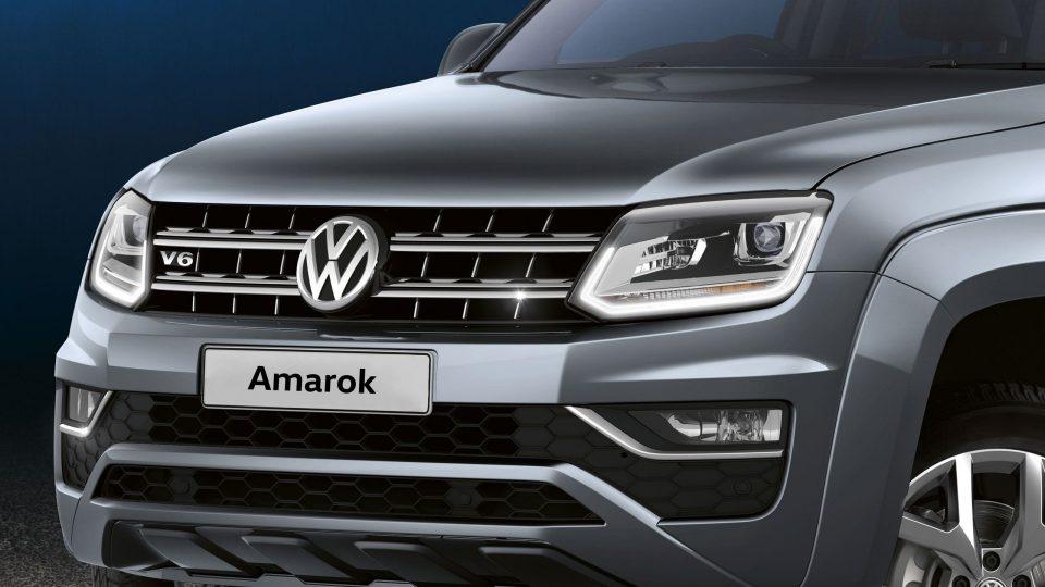 Volkswagon Amarok Silver Front