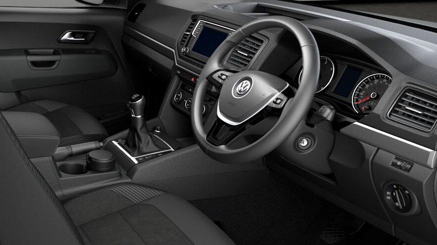 Volkswagon Amarok Steering