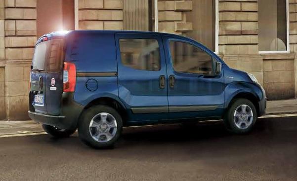 Fiat Fiorino Combi Van