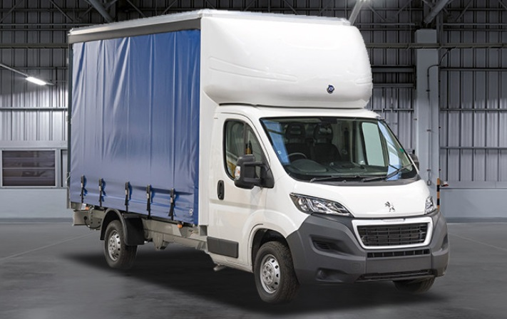 Peugeot Boxer Curtainside