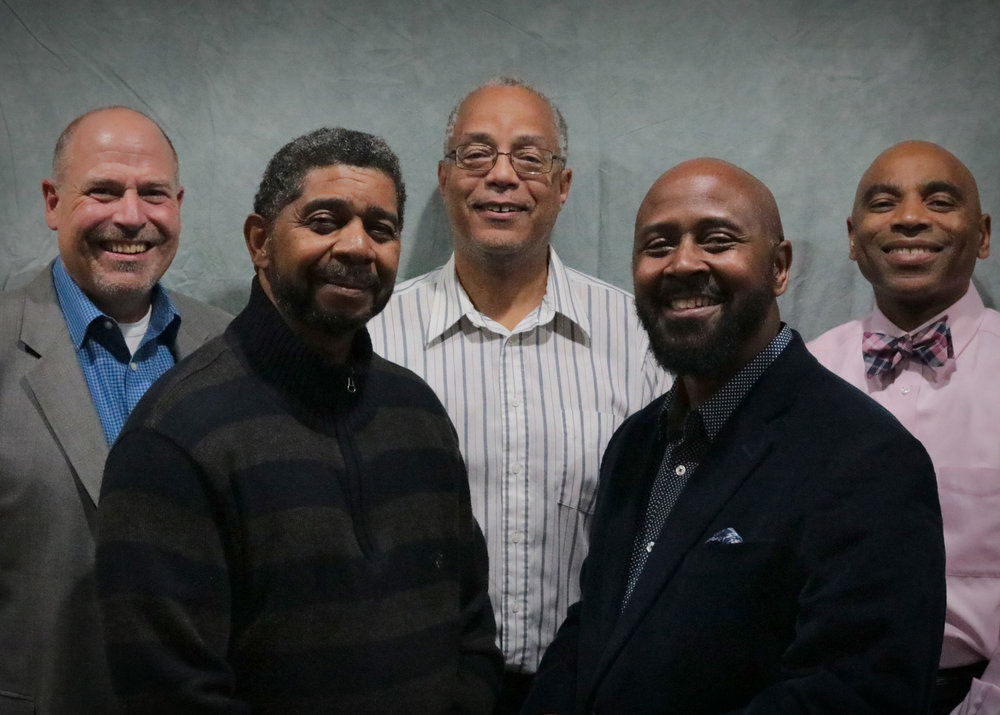The Elder Team - Our Elder Team consists of our three pastors and two appointed Elders. Pastors Bob Ross, Calvin Brown, and Trent Thomas. Elder Illinois Wilson and Carl Hammet