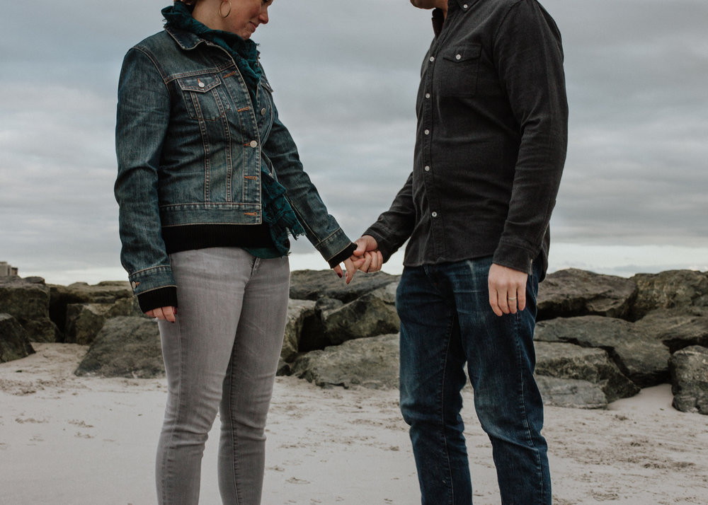 engagement photography beach session long island ny