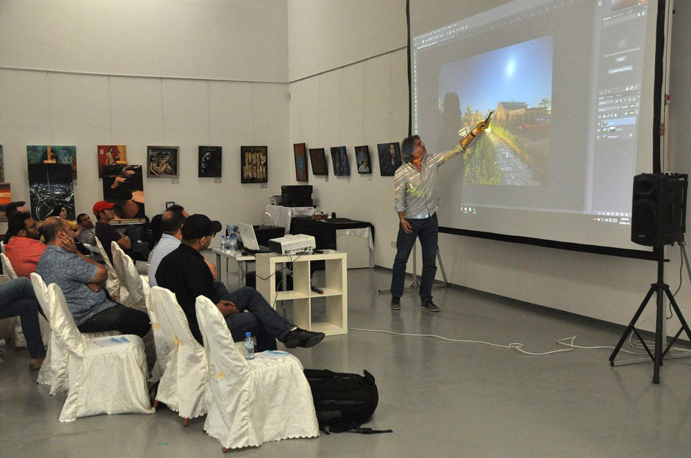 Photography workshop with Canon Tenaui