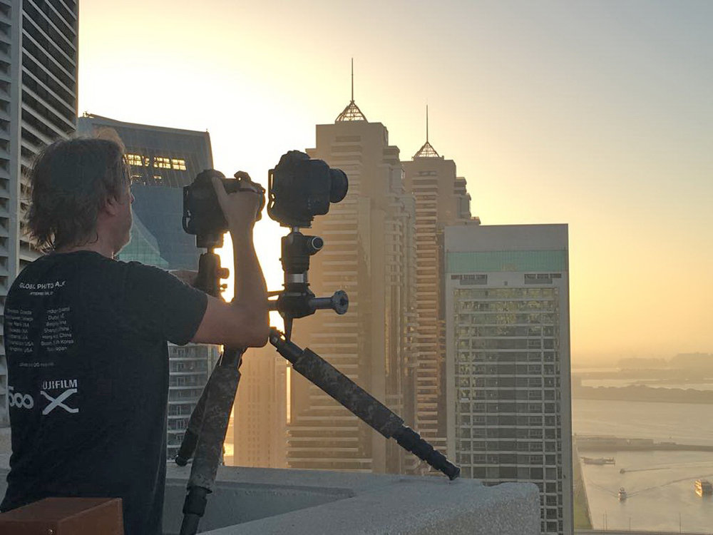 On location: multi-cam time lapse shoot