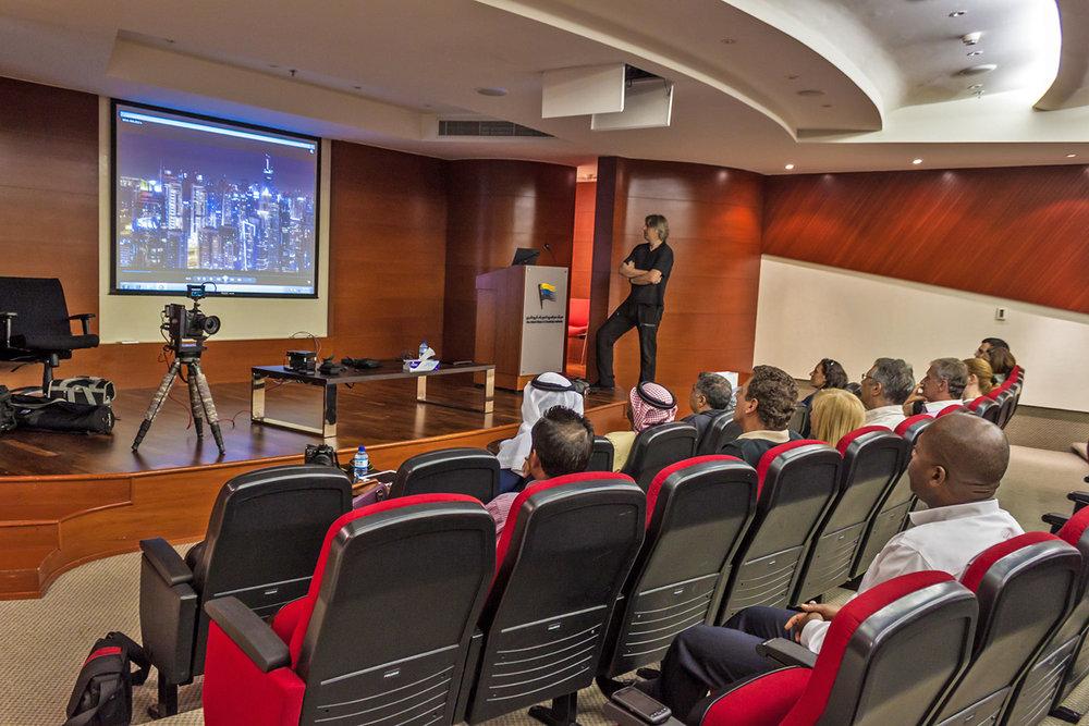 Seminar at the amateur photography group