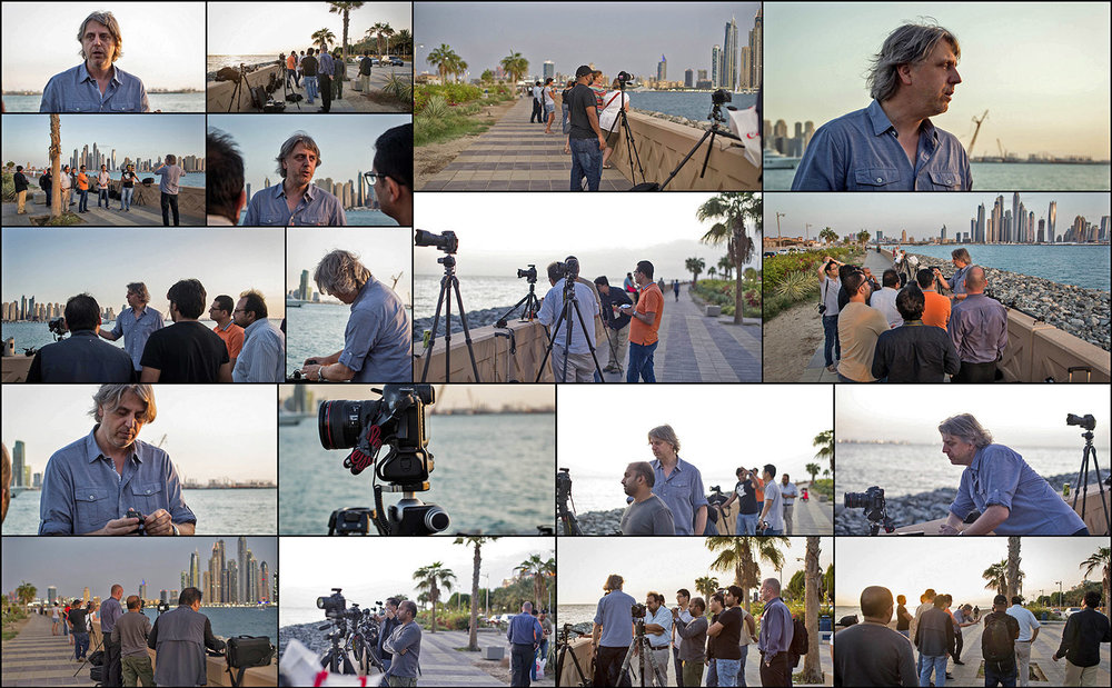 Workshop for beginners: shooting on location