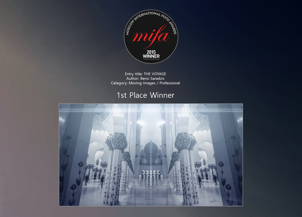 Moscow International Foto Awards (2015) - 1st Place Win