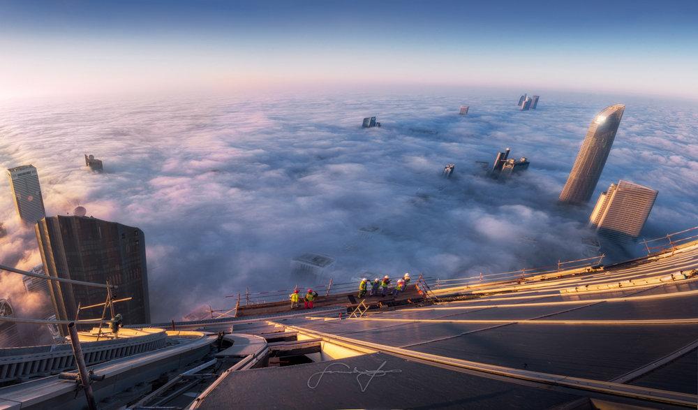 WTC Abu Dhabi construction
